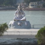 Maha Shiva am Ganges